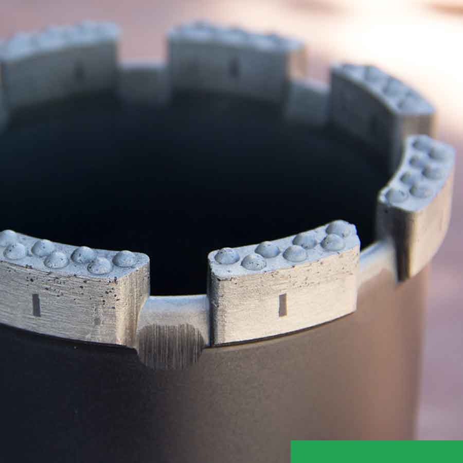 Boart Longyear Diamond Products razorcut face design