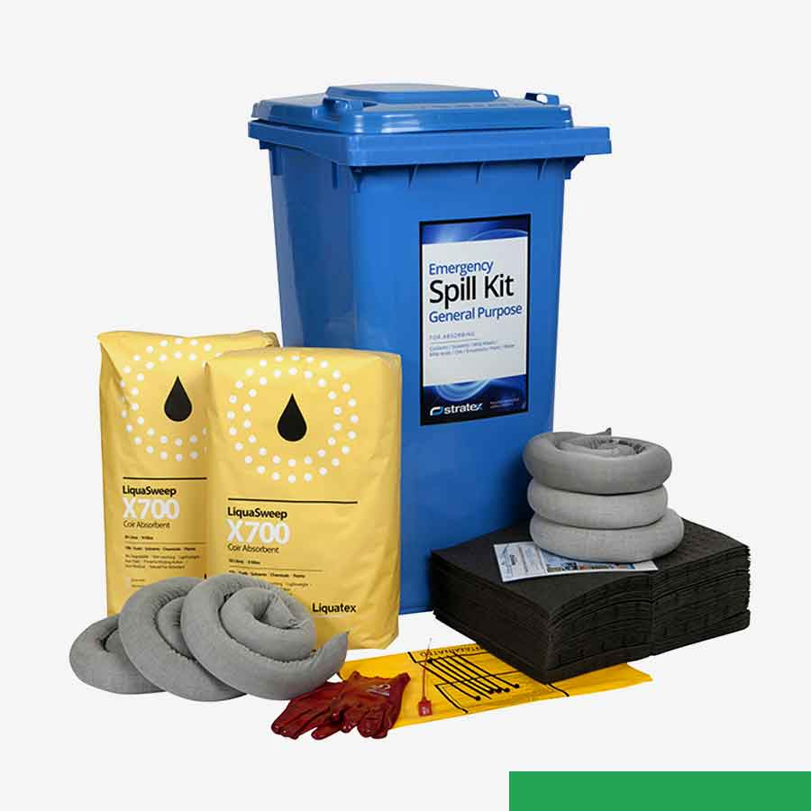 Safety Equipment & PPE Spill Containment